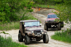 Off road Royalty Free Stock Images