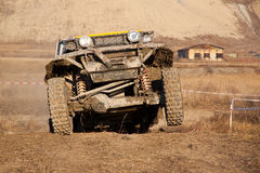 Off road. Recreational off-road on the outskirts of my town Royalty Free Stock Image