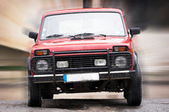 Off-road 4x4 vehicle Stock Images