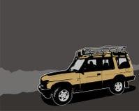 Off-road vector illustration