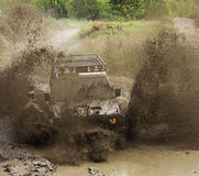 Off road action royalty free stock photography