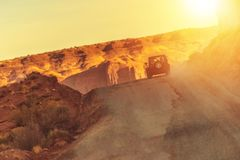 Off Road Adventure Drive Royalty Free Stock Images