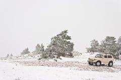 Off-road auto Stock Foto's