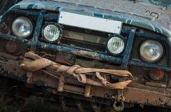 Off-road auto Royalty-vrije Stock Afbeeldingen