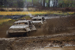 Off-Road auto racing Stock Image