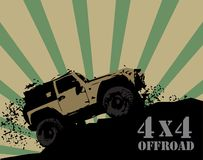Off-road background Royalty Free Stock Images