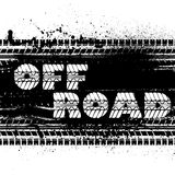Off road background Royalty Free Stock Image