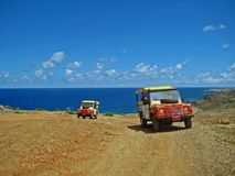 Off-Road Beach and Sea Adventure Stock Images