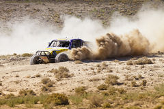 Off Road Buggy Racing Nevada Turning Royalty Free Stock Image