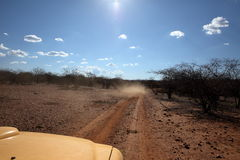 Off Road in the Caatinga of Brazil Royalty Free Stock Photography