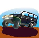 Off-road car. royalty free illustration