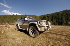 Off road car Royalty Free Stock Photography