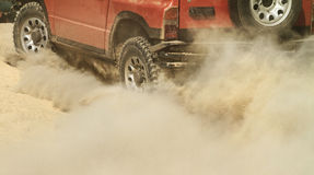 Off-road car Royalty Free Stock Image