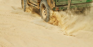 Off-road car Royalty Free Stock Images