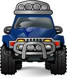 OFF ROAD CAR Stock Image