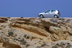 Off-road car. Passenger car captured during safari in Tunisia Stock Photo