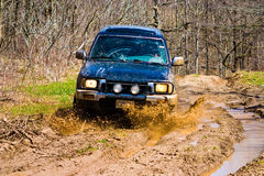 Off-road car royalty free stock photos