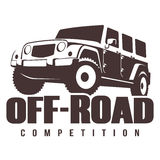 Off-road car competition Stock Photo
