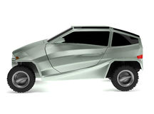 Off-road Car Concept is named Rex. This is a concept of a future off-road concept car is named Rex. 3D render Royalty Free Stock Photo