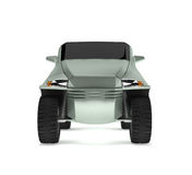 Off-road Car Concept is named Rex. This is a concept of a future off-road concept car is named Rex. 3D render Royalty Free Stock Photos