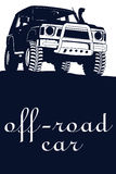 Off road car Royalty Free Stock Image