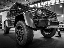 Off-road car Mercedes-Benz G500 4x4 2. Royalty Free Stock Photo