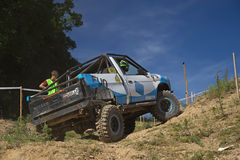 Off road car Royalty Free Stock Images