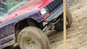 Off-road car stock footage
