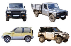 Off road cars Stock Photo