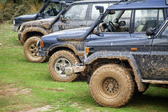 Off Road Cars Royalty Free Stock Photography