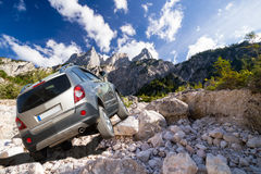 Off-road  challenge Stock Images