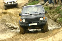Off road competition Stock Image
