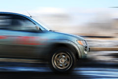 Off-road competition. Dirty car off-road competition Royalty Free Stock Images