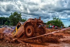 Off-road 4x4 competition. Off-road racing on August 2014 at Suratthani. Thailand,Free of charge,Open event Royalty Free Stock Images