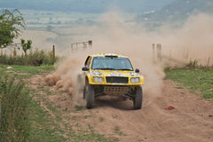 Off road competition Royalty Free Stock Photos