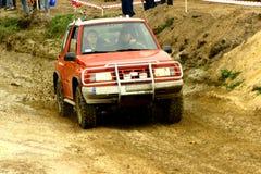 Off-road concurrentie Stock Foto's