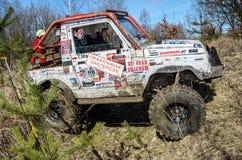 Off-road concurrentie van Penrite H6 4x4 Royalty-vrije Stock Fotografie