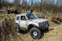 Off-road concurrentie van Penrite H6 4x4 Stock Foto
