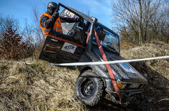 Off-road concurrentie van Penrite H6 4x4 Stock Afbeeldingen