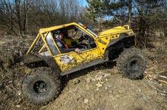 Off-road concurrentie van Penrite H6 4x4 Stock Fotografie