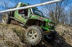 Off-road concurrentie van Penrite H6 4x4 Stock Foto's