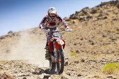 Off Road Dirt Bike Racer #N328. Fireworks Extreme Off Road Race, High Desert Racing Association, USA Parkway - Reno, NV Stock Photos
