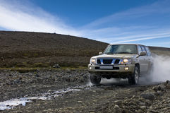 Off Road Driving royalty free stock photography