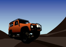 Off Road Driving Stock Images