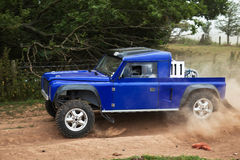 Off road driving Stock Photography