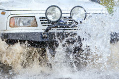 Off Road Driving Royalty Free Stock Image