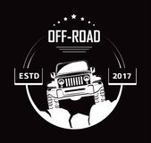 Off-road 4x4 extreme car club logo templates. Vector symbol. Off-road 4x4 extreme car club logo template. Vector symbol and icon of off road car or truck with royalty free illustration