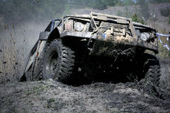Off-road extremo Imagens de Stock