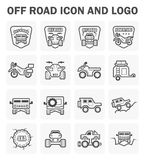 Off road icon Royalty Free Stock Images
