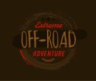 Off-Road Logo Image Royalty-vrije Stock Foto